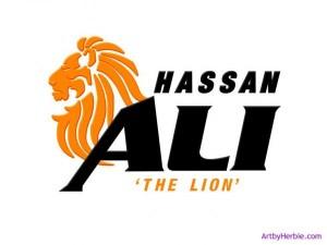 Hassan Ali 'The Lion' logo