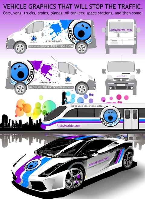 Vehicle Graphics by Herbie Hysteria