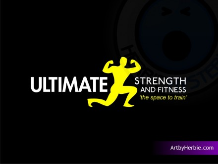 Ultimate Strength and Fitness, Nelson - Final Logo Design