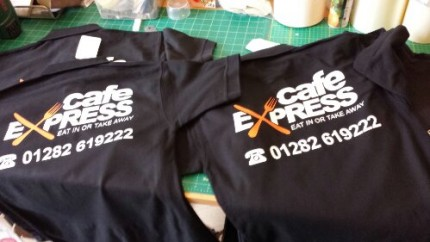 Cafe Express, Nelson - Polo Tees