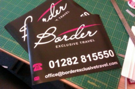 Border Exclusive Travel - Vinyl Magnetics for Taxis and Private Hire Vehicles